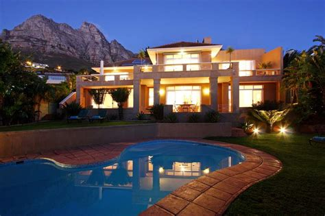 Large Luxury Homes luxury large holiday home to rent camps bay cape town