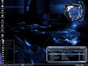 Desktop Themes Machine Blue Desktop Theme By Kagami5566 On Deviantart