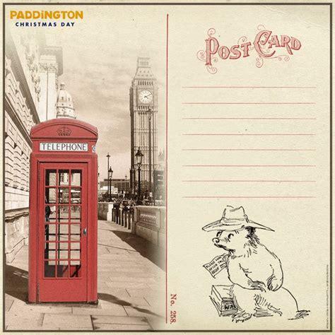 printable london postcards 110 best images about paddington bear on pinterest