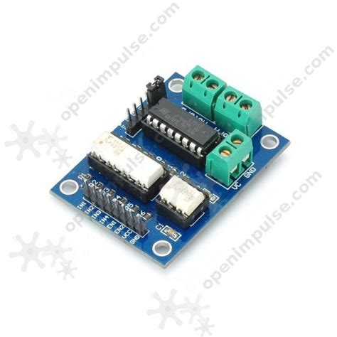 motor driver l293 l293 optoisolated motor driver module open impulseopen
