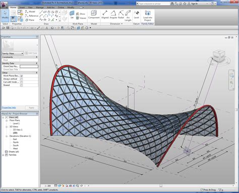 revit curved curtain wall revitcity com problems with complex curved curtain wall