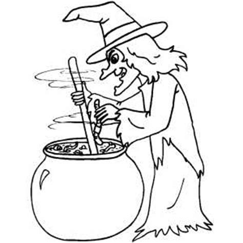printable halloween witch coloring pages brewing witch coloring page