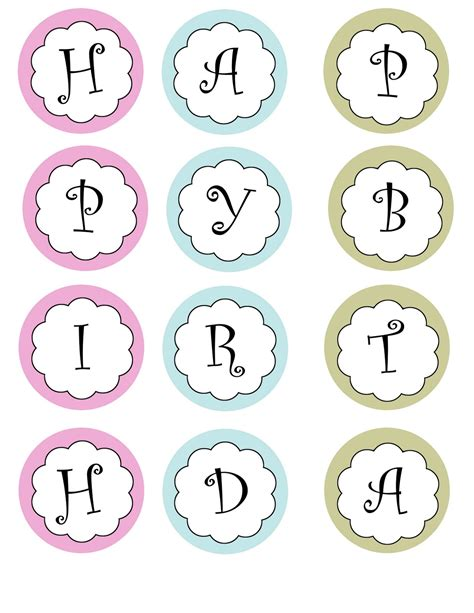printable letter templates for cake decorating printable banners templates free print your own birthday