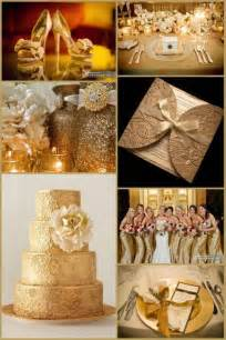 gold wedding colors lovely but in silve gold wedding ideas are