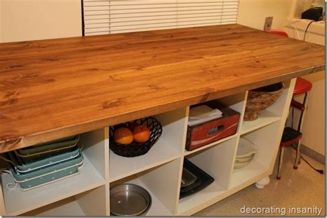 Diy Ikea Kitchen Island by Diy Kitchen Island Build It Paint It Pinterest