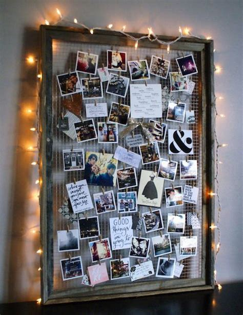 photo board ideas 15 diy photo collage ideas for your dorm or bedroom gurl com