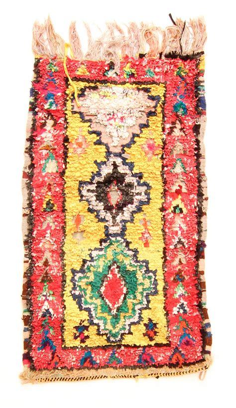 marokkanischer teppich marokkanischer berber teppich boucherouite 180 x 90 cm