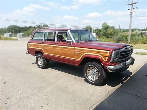 1986 Jeep Grand Wagoneer Purchase Used 1986 Jeep Grand Wagoneer In Alma Michigan
