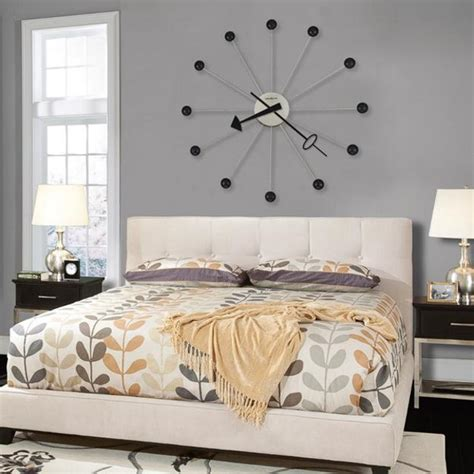large bedroom wall decorating ideas 25 ideas for modern interior decorating with large wall clocks