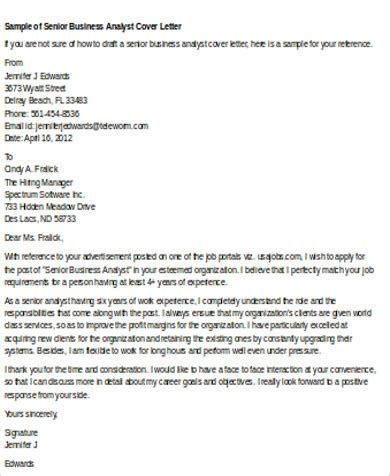Capacity Analyst Cover Letter by Best Dissertation Conclusion Writers Site For Custom Business Development Analyst Cover Letter