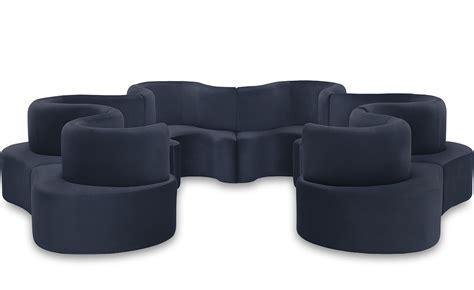 unit sofa panton cloverleaf 6 unit sofa hivemodern com