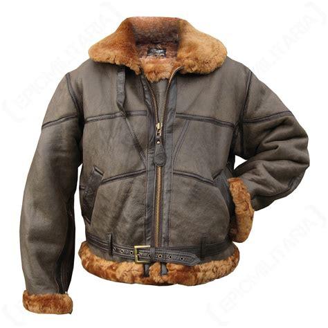 Hijacket Bomber Pilot Martin fighter pilot leather jacket epic militaria