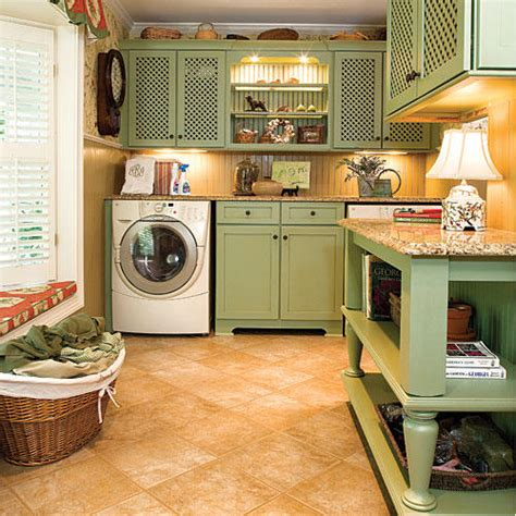 How To Decorate Your Laundry Room 10 Ways To Organize The Laundry Room Southern Living