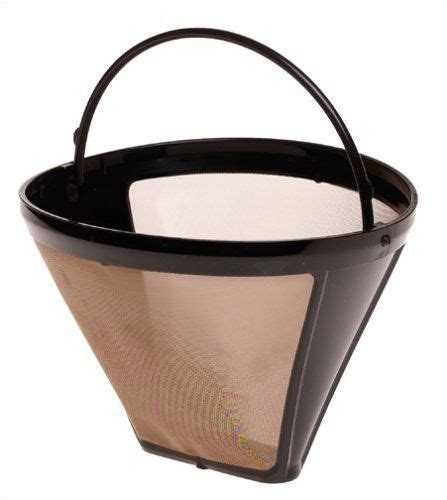 Promo Cafec Abaca Cone Coffee Brown Paper Filter Ac1 100b capresso 750 09 size 4 cone goldtone filter by capresso 15 26 reusable goldtone filter
