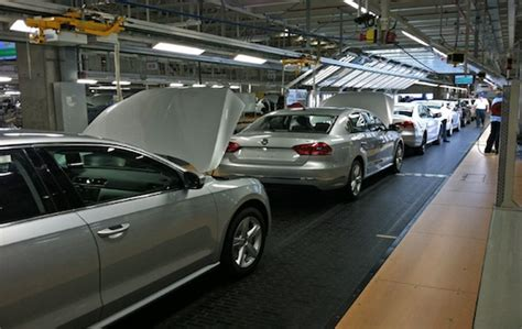Volkswagen Chattanooga Tours by Volkswagen S U S Assembly Plant Building The Passat And