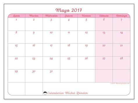 calendario rosea l septiembre 2016 para imprimir organizacion las 25 mejores ideas sobre calendario mayo 2017 en