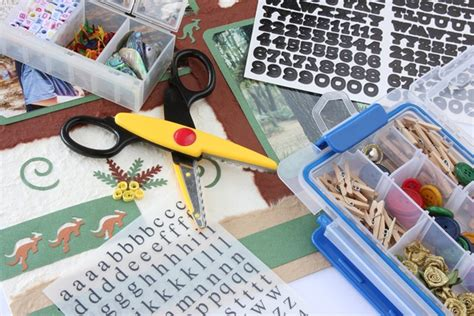 Essential Scrapbooking Tools by All About Scrapbooking Class At Ozarka Ozarka College