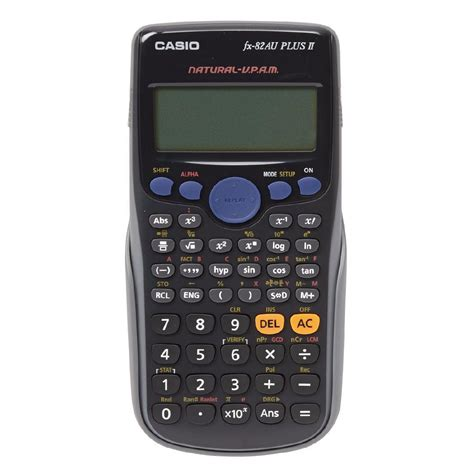 calculator nz casio scientific calculator fx82au plus ii warehouse