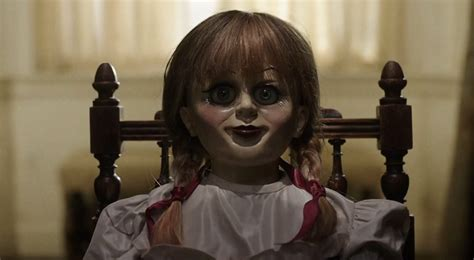 annabelle doll preview annabelle creation review the fanatics