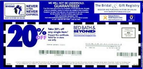 Bed And Bath Beyond Coupons by Bed Bath And Beyond Expectations