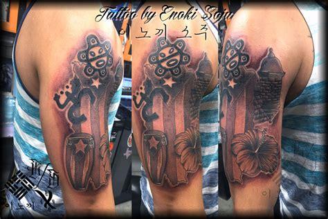 enokisoju puerto rican tattoo by enoki soju enoki soju