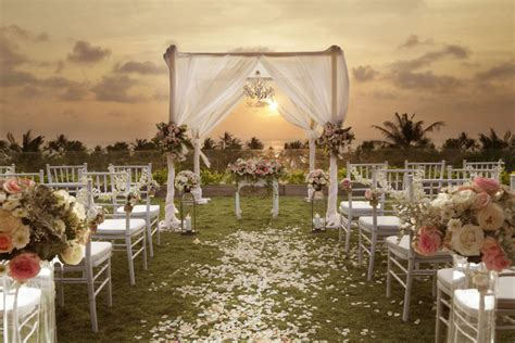 beach wedding packages bali bali channel