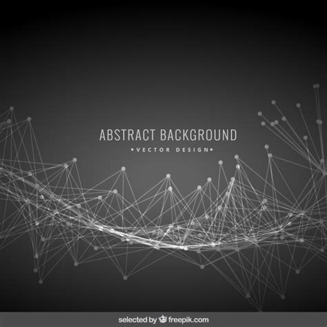 black abstract wallpaper vector black abstract background with mesh vector free download