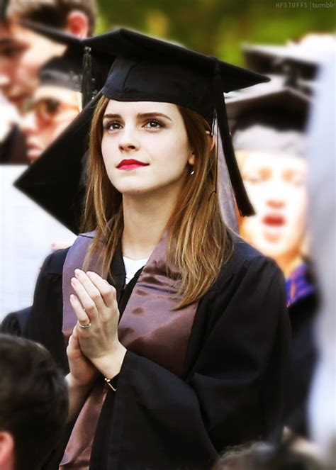 emma watson graduation emma watson graduated tumblr