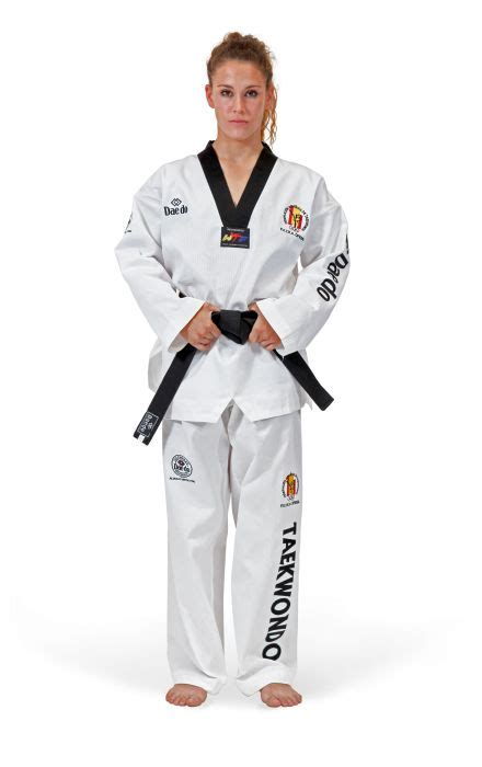 Empro Dobok Taekwondo Pemula 130 140 150 160 daedo ta1047 dobok federacion espa 241 ola taekwondo blanco