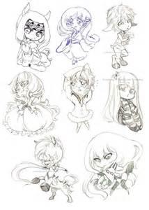 chibi sketch samples by yaocchi on deviantart