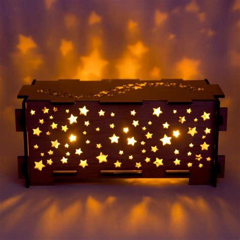 Star Wood Night Light Box L Trinket Storage Box In Lights With Box