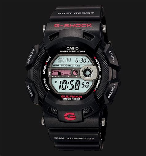 Gshock G9100 Gulfman casio g shock gulfman g 9100 1dr jamtangan