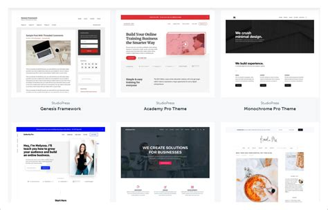 cms templates top genesis child themes design templates