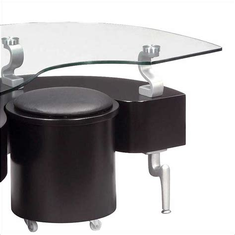 Contemporary Black Coffee Table Global Black Coffee Table Contemporary