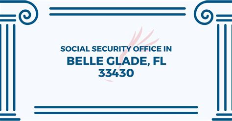 social security office in glade florida 33430 get