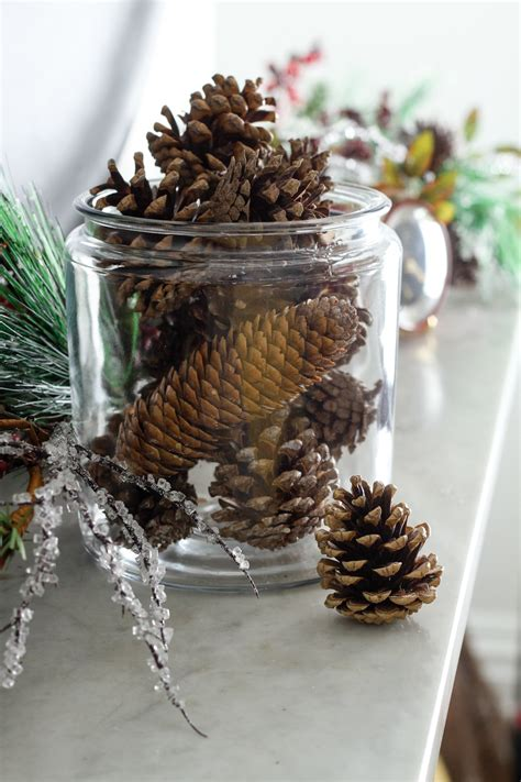 Edle Weihnachtsdekoration 2017 by How To Make Diy Scented Pinecones Apartment Therapy