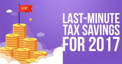 Last Minute Tax Deductions by Last Minute Tax Savings For 2017 Smart Agents