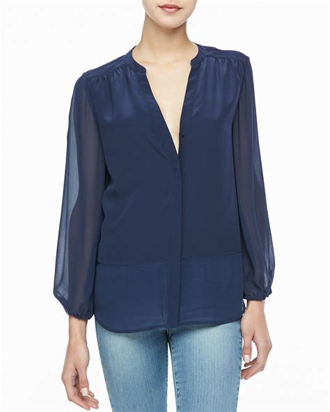 Navy Blue Silk Blouse navy blue silk blouse clothing