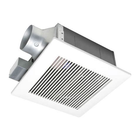 bathroom fans panasonic 80 amp 110 cfm whisper fitlow