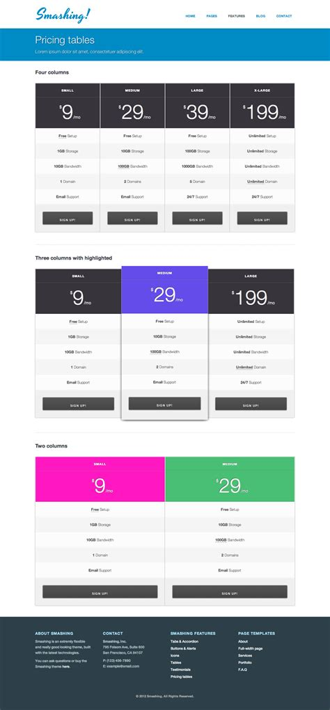 html5 template file smashing responsive html5 template by filipstefansson themeforest