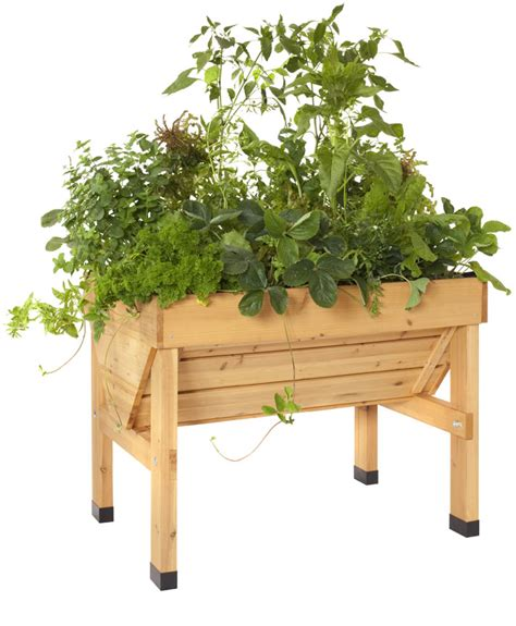 Elevated Container Garden Planters by Vegtrug Raised Container Garden
