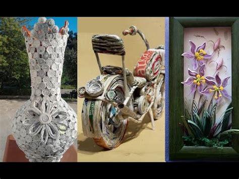 crafts ideas  newspeper  awesome diy newspaper