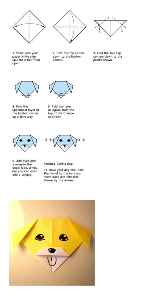 Procedure Text Origami - dinny s the exle of procedure text