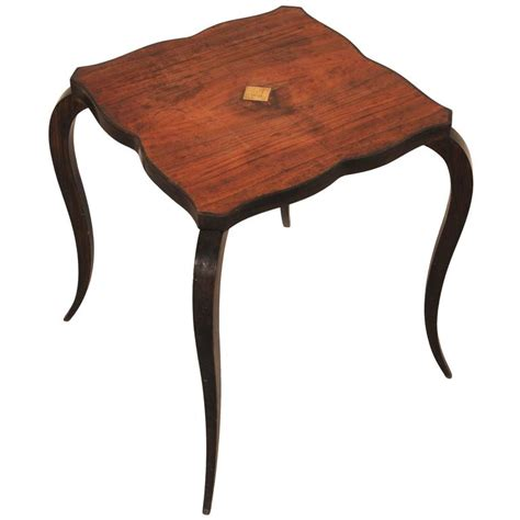 curved table legs for sale small deco side table with curved legs for sale at 1stdibs