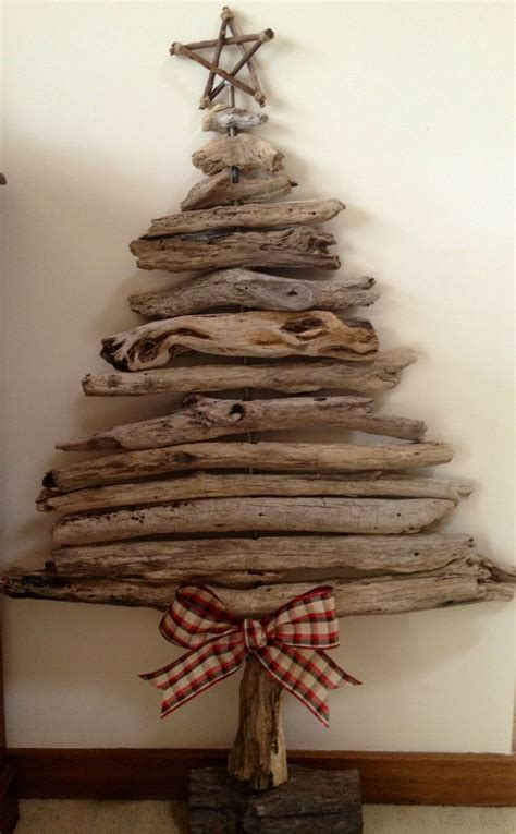 driftwood christmas tree home ideas pinterest