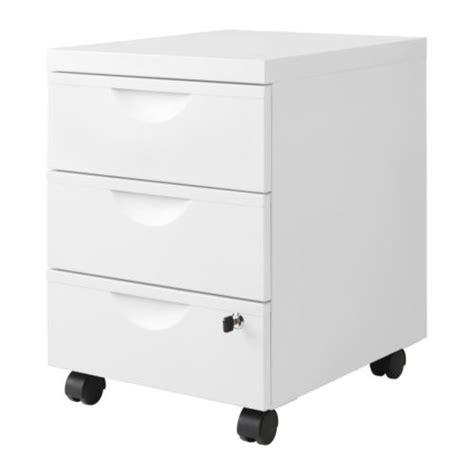 cassettiere con rotelle erik cassettiera 3 cassetti con rotelle bianco ikea