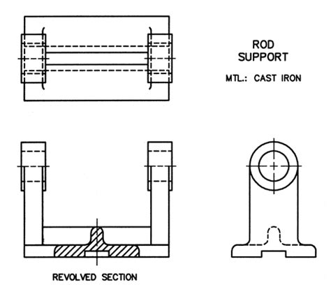 revolved sections me210 gt drafting and documentation gt revolved section