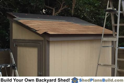 Putting A Roof On A Shed by Lean To Shed Plans Photo Gallery