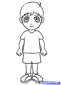 how to draw cartoon boy and archives pencil drawing