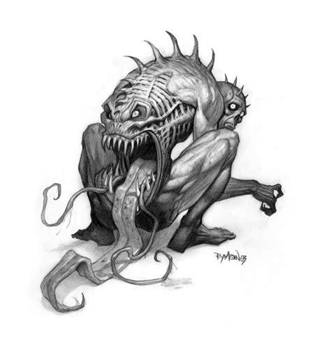 pencil drawings of demons www pixshark com images